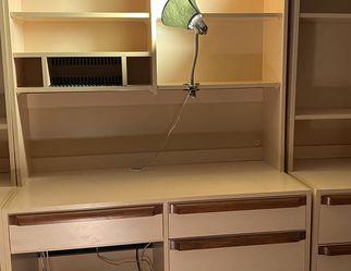 6 Pc Bedroom Set With Built In Computer Desk for Sale in Livingston,  NJ
