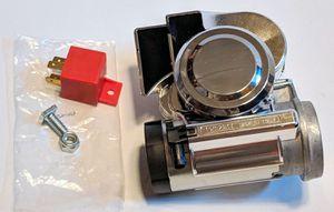 Stebel Nautilus Motorcycle Compact Motor Bike Air Horn Chrome 139dB 12 volt for Sale in Lynnwood, WA