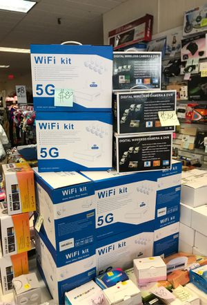 5G WiFi Kit ,wireless camera for Sale in Quincy, MA