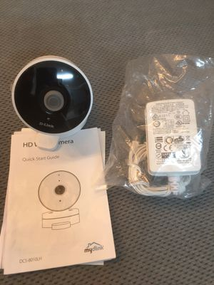 D-Link mydlink DCS-8010LH Network Camera - 16 ft Night Vision - Motion JPEG, H.264 - 1280 x 720 - CMOS for Sale in San Bernardino, CA