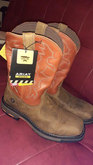 Ariat steel toe 10.5d for Sale in Houston, TX