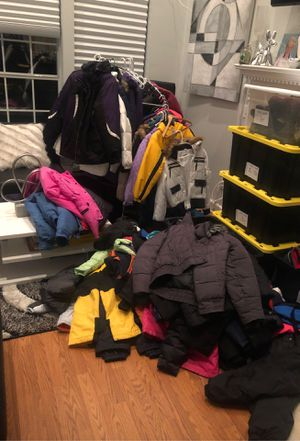 Winter snow jackets pants bibs boots for all family come and look for Sale in Saint Johns, FL