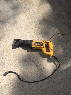 Sawzall Dewalt. 18 v eléctrico for Sale in Dallas, TX