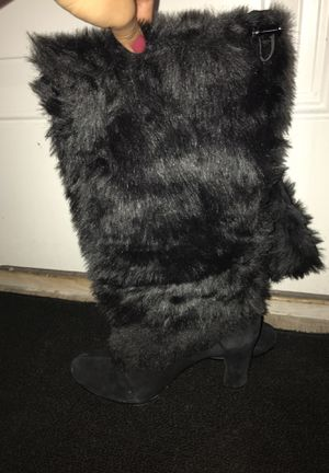 Furry heel boots for Sale in West Valley City, UT