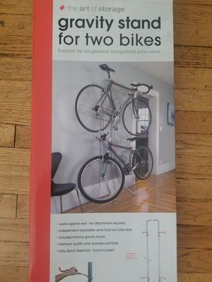 Gravity bike stand for Sale in Edgewater, NJ