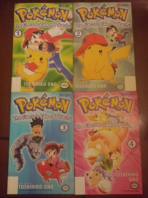 1998 & 1999 POKEMON #1-4 MINI SERIES SETS ($8 EACH SET OR $15 FOR BOTH) ***SEE OTHER POSTS*** for Sale in El Cajon, CA