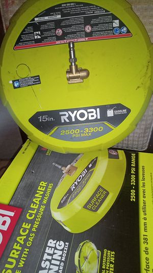 Ryobi gas pressure washer surface cleaner for Sale in Modesto, CA