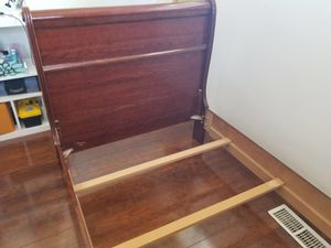 Bed frame and mattress box for Sale in Salt Lake City, UT