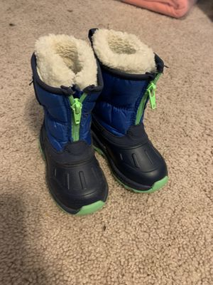 Carter's Snow Boots Toddler size 5 for Sale in Old Mill Creek, IL