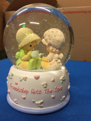 Precious moments snow globe $12 OBO for Sale in Stockton, CA