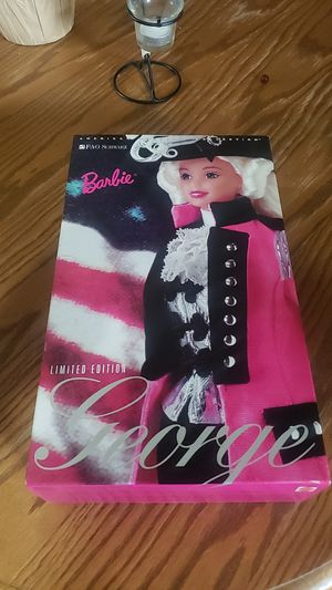 Limited edition George Washington Barbie American beauties collection for Sale in Littleton, CO
