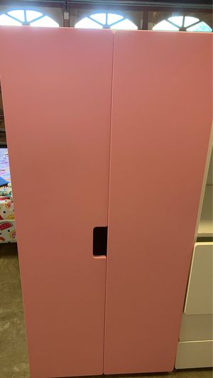 Pink closet & White shelves and drawers. READ DESCRIPTION for Sale in Seal Beach, CA