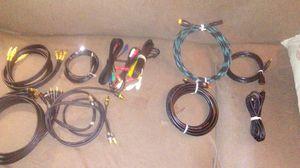 HDMI ,RCA,audio video cables for Sale in Boston, MA