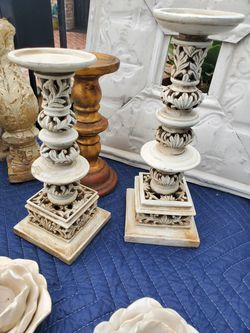 Assorted Candle Sticks $3, 5, &10 For Each Sets for Sale in Cypress,  CA