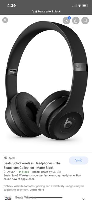 Beats solo 3 for Sale in Powell, OH