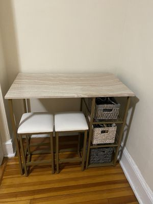 Desk with chairs for Sale in Boston, MA