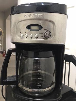 Cuisinart Coffee Maker for Sale in Salt Lake City, UT