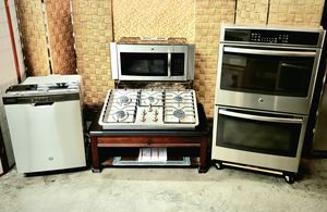 """GE Stainless Steel Kitchen with 36"""" Cooktop and Double Oven for Sale in North Las Vegas, NV"""