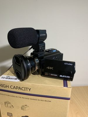4K Ultra HD Camera / Camcorder for Sale in San Diego, CA