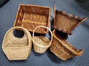 Baskets Set of 5 for Sale in Bonney Lake, WA