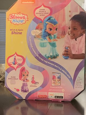 Shimmer &Shine wish and spin doll for Sale in Bellevue, TN
