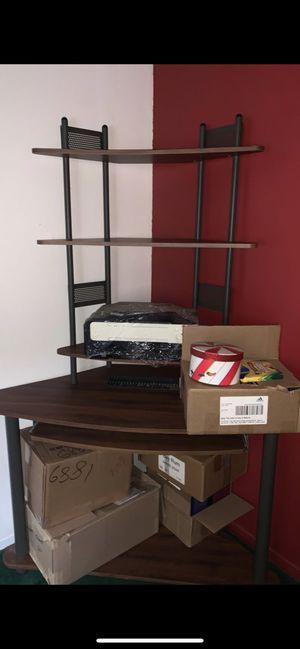 Computer Desktop Desk(only) Best for Corner IF POST STILL UP STILL AVAILABLE for Sale in Riverside, CA