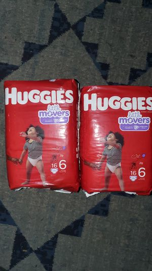 Huggies Little Movers Size 6 for Sale in Los Angeles, CA