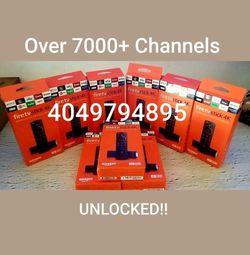 AMAZON 4K FIRESTICKS WITH ALEXA VOICE REMOTE CONTROL!!!!! for Sale in Atlanta,  GA