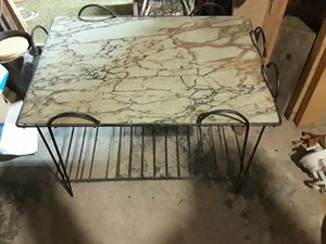 Antique cast iron outdoor table for Sale in Pittsburgh, PA