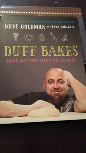 Duff Goldman's Cook Book for Sale in Fort Worth, TX