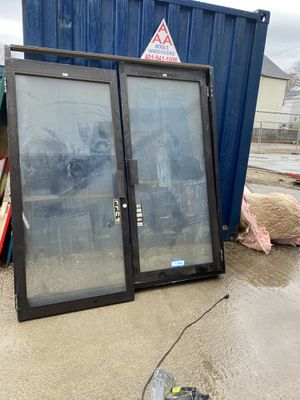Commercial double door with key 100$ firm for Sale in Cranston, RI