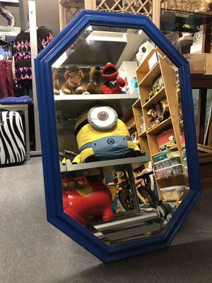Blue Wall Mirror for Sale in Eastpointe, MI
