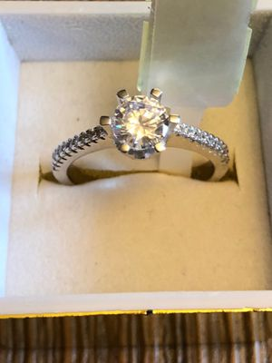 925 sterling silver promise engagement wedding ring size 9 for Sale in San Jose, CA