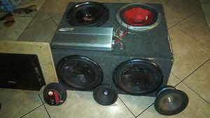 Car audio speakers for Sale in Tampa, FL