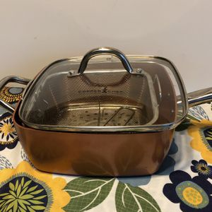 Copper Chef Frying Pan Ser With Lids for Sale in Sunnyvale, CA