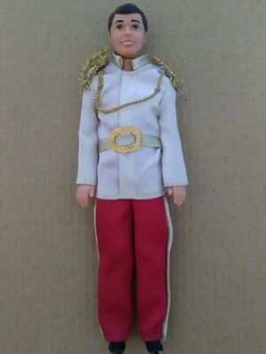 "VINTAGE COLLECTIBLE 1994 DISNEY PRINCE CHARMING 7"" ACTION FIGURE. for Sale in El Mirage, AZ"