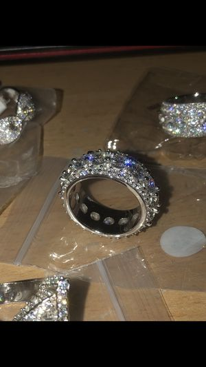 Brand new size 5-10 iced out ring for Sale in Redondo Beach, CA