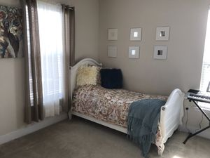 Twin bed frames for sale (two available same style same color) for Sale in Jessup, MD
