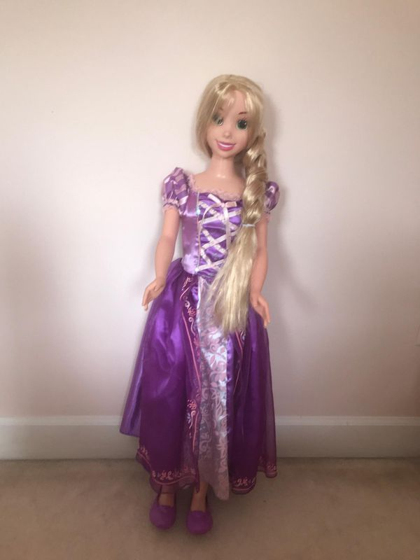 Large rapunzel doll
