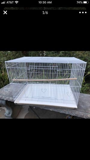 Large Bird Cage ONLY (24x16) for Sale in Los Angeles, CA