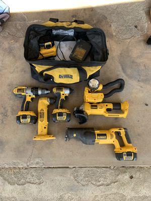 DeWalt cordless power tools for Sale in El Cajon, CA
