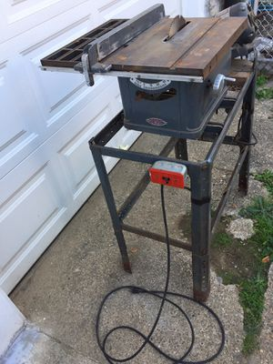 Craftsman table saw for Sale in Philadelphia, PA