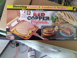 Red copper flipwich pan for Sale in Tarpon Springs, FL