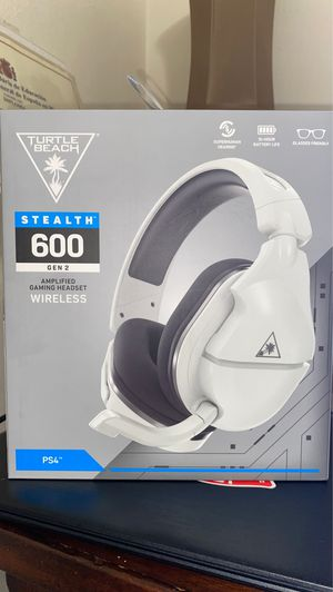Turtle Beach stealth 600 gen 2 Ps4/5 wireless gaming headset for Sale in Miami, FL