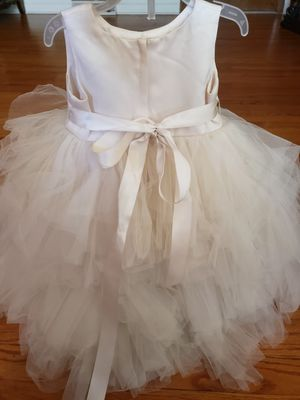 flower girl dress size 6 month for Sale in Palos Hills, IL