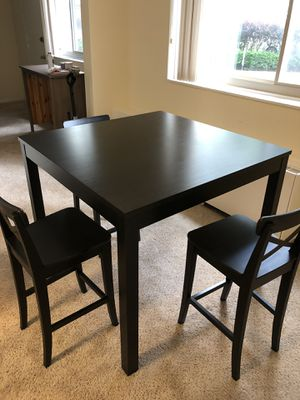 IKEA Dining Table Set- Table and 3 Chairs for Sale in Silver Spring, MD