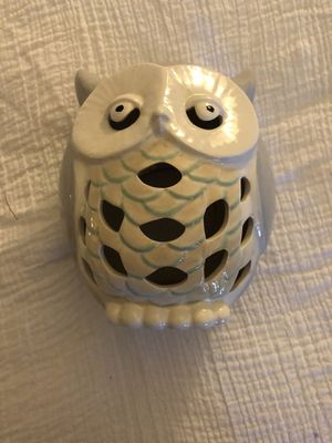 Owl candle light holder for Sale in Anaheim, CA