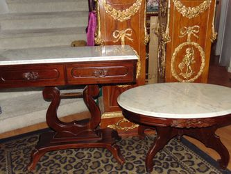Two Italian Marble Tables for Sale in Las Vegas,  NV