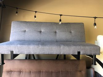 🔥New! Comfy grey sofa bed sleeper futon for Sale in Escondido,  CA