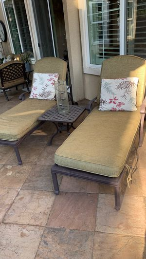 Chase Lounge patio recliner chairs for Sale in Pleasanton, CA